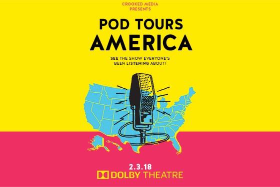 Pod Tour America Tickets